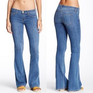 {Current/Elliott} The Low Bell Jean in Alantis
